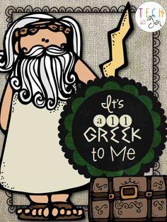 greek mythology for 2nd grade