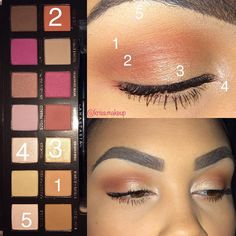 "75 Likes, 8 Comments - @kriss.makeup on Instagram: ""#motd #modernrenaissance #modernrenaissancepalette #eyeshadow #eyeshadowpalette #eyebrowsonfleek…"""