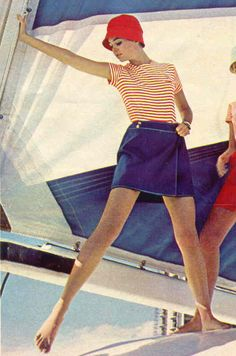 1960d Vintage Nautical Attire- If only I was that skinny again!