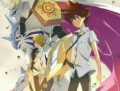 Tai , Yamato & Omnimon