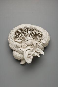 Kate MacDowell art porcelaine