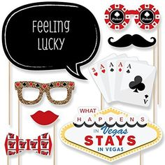 Las Vegas - Casino Photo Booth Props Kit - 20 Count Big Dot of Happiness http://www.amazon.com/dp/B011AAXQW2/ref=cm_sw_r_pi_dp_kndNwb1PBAXWM