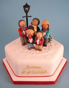 Gâteau de Noël/ Christmas Cake