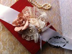 Romantic Mauve/ivory Vintage bridal bloom by RoseGardenBridal, $47.99