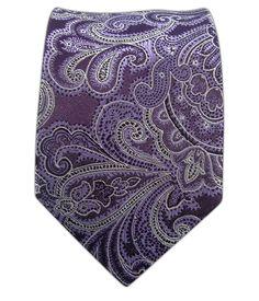 Designer Paisley - Eggplant (Skinny)   Ties, Bow Ties, and Pocket Squares   The Tie Bar
