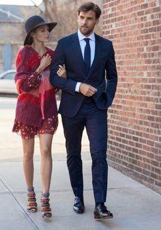 Olivia Palermo and husband