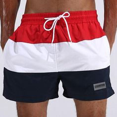 Precise Summer Beach Men Quick-dry Shorts New Fashion Mens Board Short Solid Color Male Thin Breathable Pockets Zipper Trendy 3 Colors As Effectively As A Fairy Does Men's Clothing