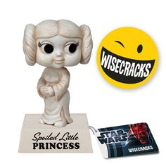 Cabezón Star Wars. Princesa Leia, 15 cms. Sarcasmo. Funko