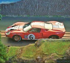 Ford Escort GT 40 (1/32 scale) #scalextric #slot #slotcar #slottrack #slotcartrack #circuito #rennbahn  #maqueta #portable  #forsale  #scalemodel #modelismo #modelism #handmade #paint #airbrush #aerografo #landscaping #rally #cars #wrc  #diorama #wec #paintwork #mountain #montaña #tree #arbol #arbre #diy #doityourself #entrepreneur #custom #artisan #woodart #art #carart #maqueta #madera #handmade #hechoamano #woodwork #fetama #ford #gt #gt40 #supercar #dreamcar #motorsport Slot Car Racing, Slot Car Tracks, Slot Cars, Radio Control, Car Ins, Wooden Signs, Handmade Paint, Ford Escort, Ford Gt