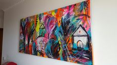 Acrylic on streched canvas Expressionism, Paintings, Canvas, Color, Art, Tela, Art Background, Paint, Painting Art