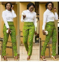 A collection of the best and Latest Casual African Ankara Styles. These casual ankara styles and casual ankara designs were specifically selected for your taste of casual ankara styles African Fashion Ankara, African Fashion Designers, African Inspired Fashion, African Print Fashion, Africa Fashion, African Ankara Styles, African Print Pants, African Print Dresses, African Dress