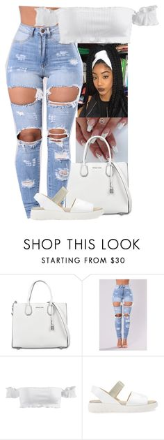"""Untitled #290"" by xgoldenrose ❤ liked on Polyvore featuring MICHAEL Michael Kors and Geox"