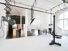 State of the Art studio space of SFH Images, Studio for photography and film. Bregenz, Austria. http://www.sfh.at