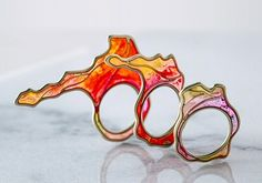 TheCarrotbox.com modern jewellery blog : obsessed with rings // feed your fingers!: Lauren Pineda