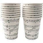 Sheet Music Paper Cups These cups are perfect for your next party. Printed with sheet music all over the cup. Make no mistake these sheet music cups are great for any music themed gathering. Pick some up today. Come 16 per pack. Music Theme Birthday, Music Themed Parties, Birthday Party Themes, Themed Weddings, Birthday Ideas, Dad Birthday, Mundo Musical, Drummer Gifts, Piano Recital