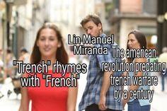 Kid Memes, Stupid Funny Memes, Funny Relatable Memes, Hamilton Lin Manuel, Lin Manuel Miranda, Hamilton Musical, Hams, Alexander Hamilton, History Memes