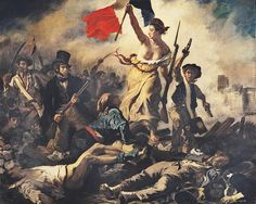 Eugène Delacroix. Liberty Leading the People. 1830