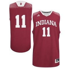 adidas Indiana Hoosiers 2014 March Madness #11 Basketball Jersey