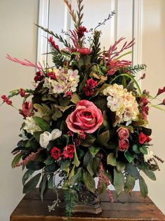The Average Cost Of Wedding Flowers – LivingWedding Artificial Floral Arrangements, Church Flower Arrangements, Beautiful Flower Arrangements, Altar Flowers, Church Flowers, Artificial Bouquets, Wedding Flowers, Silk Arrangements, Beautiful Flowers