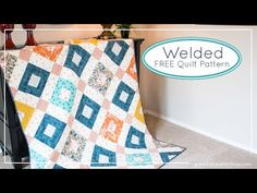 Fat Quarter Shop's Jolly Jabber: AGF Stitched with Kimberly: Welded Quilt