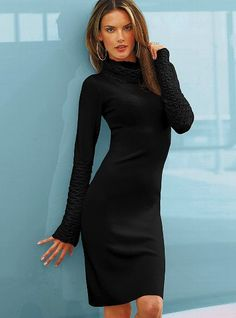 Turtleneck Sweaterdress #VictoriasSecret http://www.victoriassecret.com/clothing/dresses/turtleneck-sweaterdress?ProductID=4203=OLS?cm_mmc=pinterest-_-product-_-x-_-x