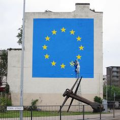 Banksy and the European Union in Dover, England | StreetArtNews