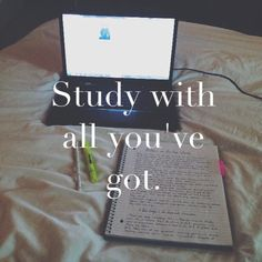 A little study inspiration for us all today.