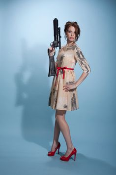 one of a kind star wars dress by nerdalertdesigns on Etsy, $90.00