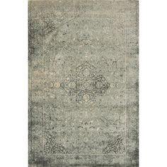 @Overstock.com - Francis Slate Rug - The vintage-inspired Francis rug from Egypt is an elegant, transitional rug with a geometric pattern design. This rug offers a naturally washed-out effect and soft color combinations that will add a sophisticated look to any interior space.  http://www.overstock.com/Home-Garden/Francis-Slate-Rug/7639224/product.html?CID=214117 $458.99