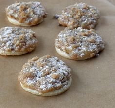 Food Pusher: Dutch Apple Pie-lettes (Apple Pie Cookies)