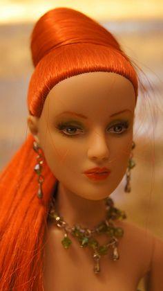 Repainted Tonner Doll Antoinette Redhead...