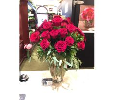 Forever Loved Red Roses in Princeton, Plainsboro, & Trenton NJ, Monday Morning Flower and Balloon Co.