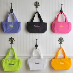 Large selecton of personalized handbags.  Use  Coupon code PINTEREST10 to get 10% off your order!