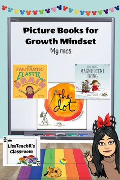 Growth mindset is HUGE in my class and here are some of my favorite picture books along with some tips on how to use them in your classroom. Library Activities, Reading Resources, Classroom Resources, New Vocabulary Words, Vocabulary Practice, Elementary School Library, Elementary Education, Upper Elementary, Reading Comprehension Strategies