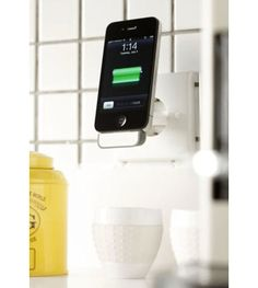 BlueLounge MiniDock - $19.95 »The great thing about smart phones and touch tablets is that thousands of apps, or small software applications, are available free or at low cost. It's these apps that can turn an old phone or tablet into a new kitchen information appliance.