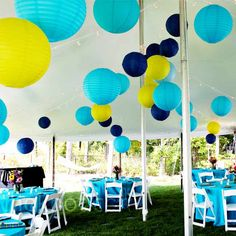 Paper Lantern Decorations - Perfect for that lake side wedding | Photo by: iKLikphoto.com