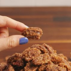 It's not the holidays without candied pecans.