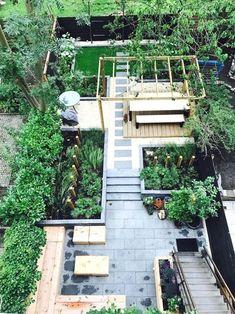 garden care tips garden design, tuinon - Modern Garden Design, Patio Design, Lounge Design, Contemporary Garden, Home Garden Design, Modern Landscaping, Backyard Landscaping, Backyard Layout, Modern Backyard