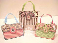 Learn how to make these great Botanical Tea purses with a great tutorial from Kristin Wilson using brown paper lunch bags! Isn't this clever? #graphic45 #tutorials
