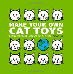 A site with lots of ideas for homemade cat toys. Easy and cheap options. Pill bottles, toilet paper rolls, shower curtain rings, etc. #cats #CatToys #CatMakings