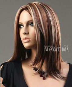 Highlights Brown Hair Color With Blonde Highlights Pictures Hairstyles. Highlights Brown Hair Color With Blonde Highlights Pictures Hairstyles Brown Hair Color With Blonde Highlights, Brown Blonde Hair, Hair Color And Cut, Haircut And Color, Brown Hair Colors, Blonde Color, Chunky Highlights, Caramel Highlights, Auburn Highlights