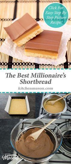 Millionaire's Shortbread | 7x11 pan