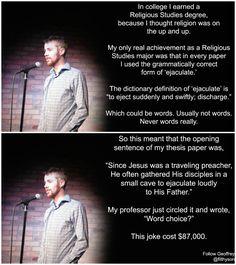 #GeoffreyAsmus, #comedian , #comedy , #funny , #StandUp , #Jokes , #fun , #comic , #lol , #joke