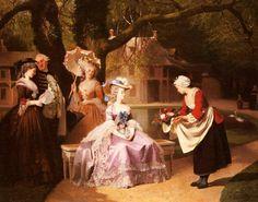 Marie Antoinette & Louis XVI by Joseph Caraud