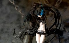 Black Rock Shooter Theme for Windows 10  http://themepack.me/theme/black-rock-shooter/  #BlackRockShooter, #anime, #themes, #windows, #wallpaper, #background