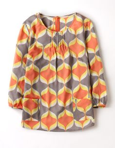 I've spotted this @BodenClothing Printed Pocket Top Red Retro Geo