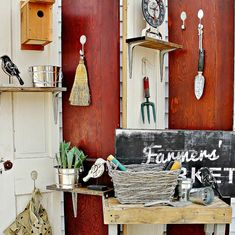 How to Make a Folding Screen From Old Doors | Thistlewood Farms