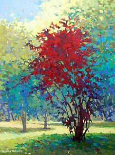 Missy's Tree by Trisha Adams Oil ~ 48 x 36
