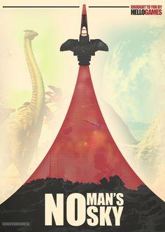 no man's sky poster - Пошук Google