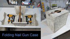 Folding Nail Gun Case